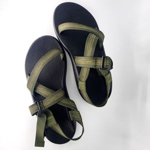 New Mens Green Chaco Z/1 Classic Sandals Sz 12